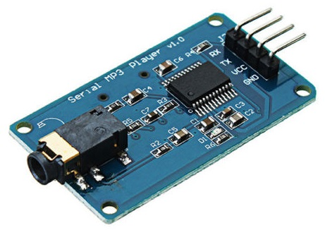 MD_YX5300 Library: Arduino Serial MP3 Player